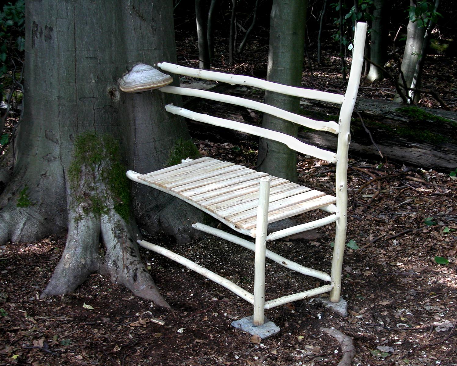 Bench | 2004 | wood | 36 x 30 x 20 | Darmstadt, Germany