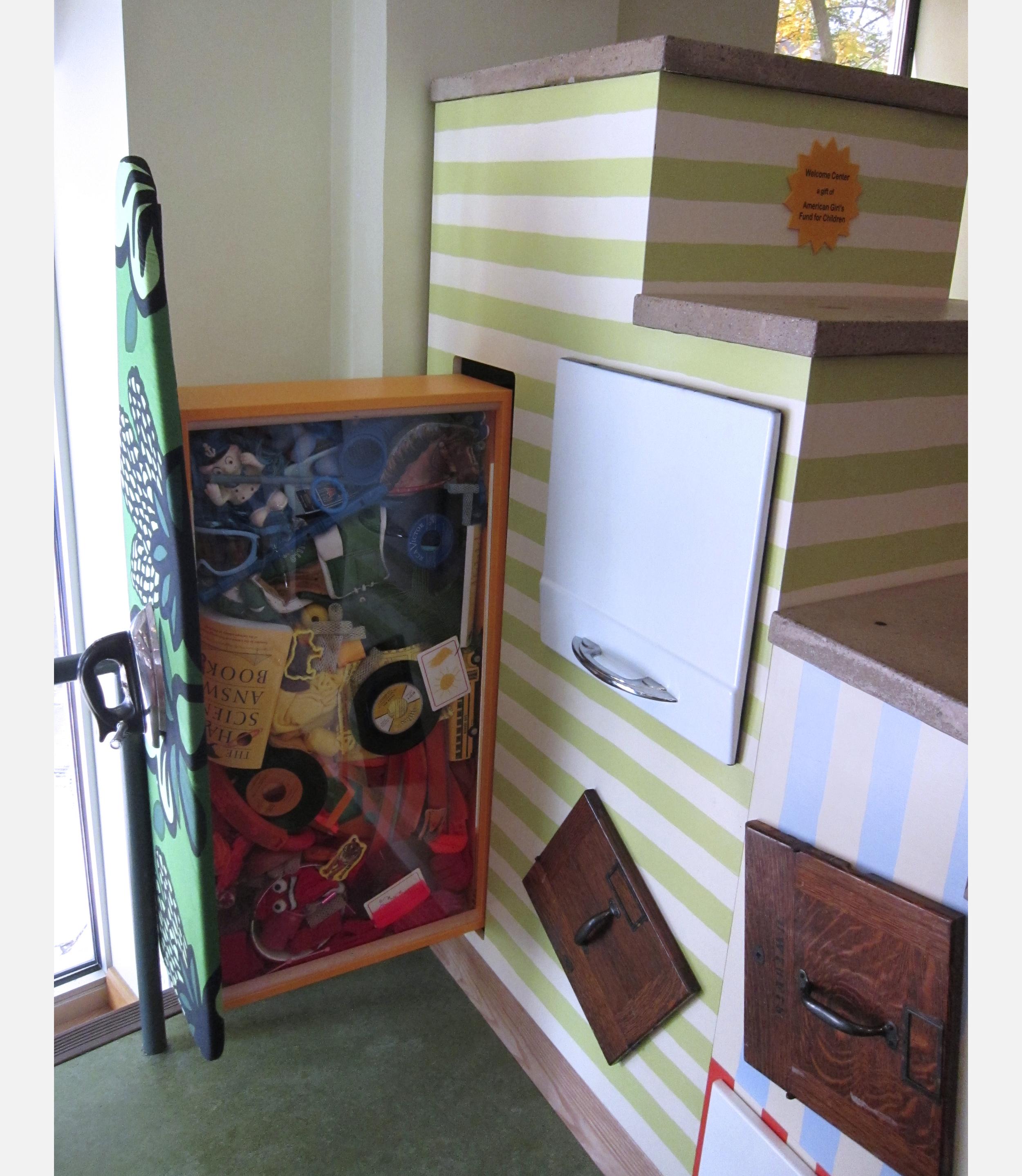 Reception Desk | Tom Loeser and Bird Ross | Madison Children's Museum | 2010