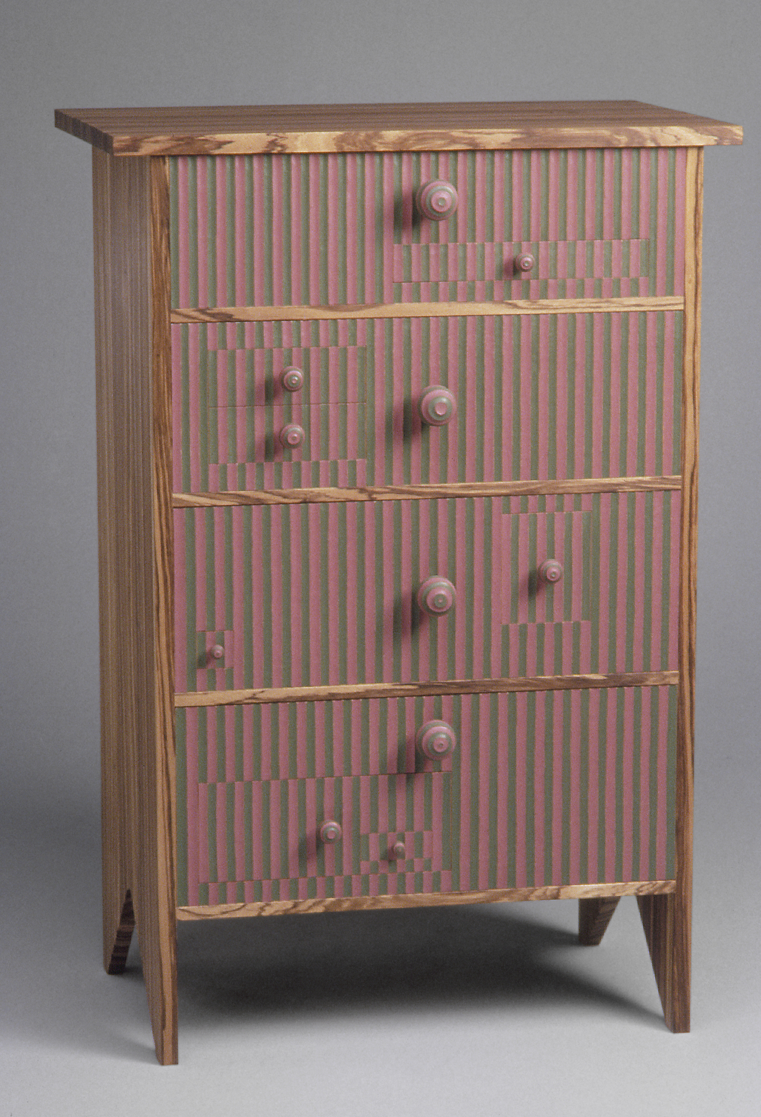 More Multiple Complications I 1995 I wood, paint I 50 x 34 x 21