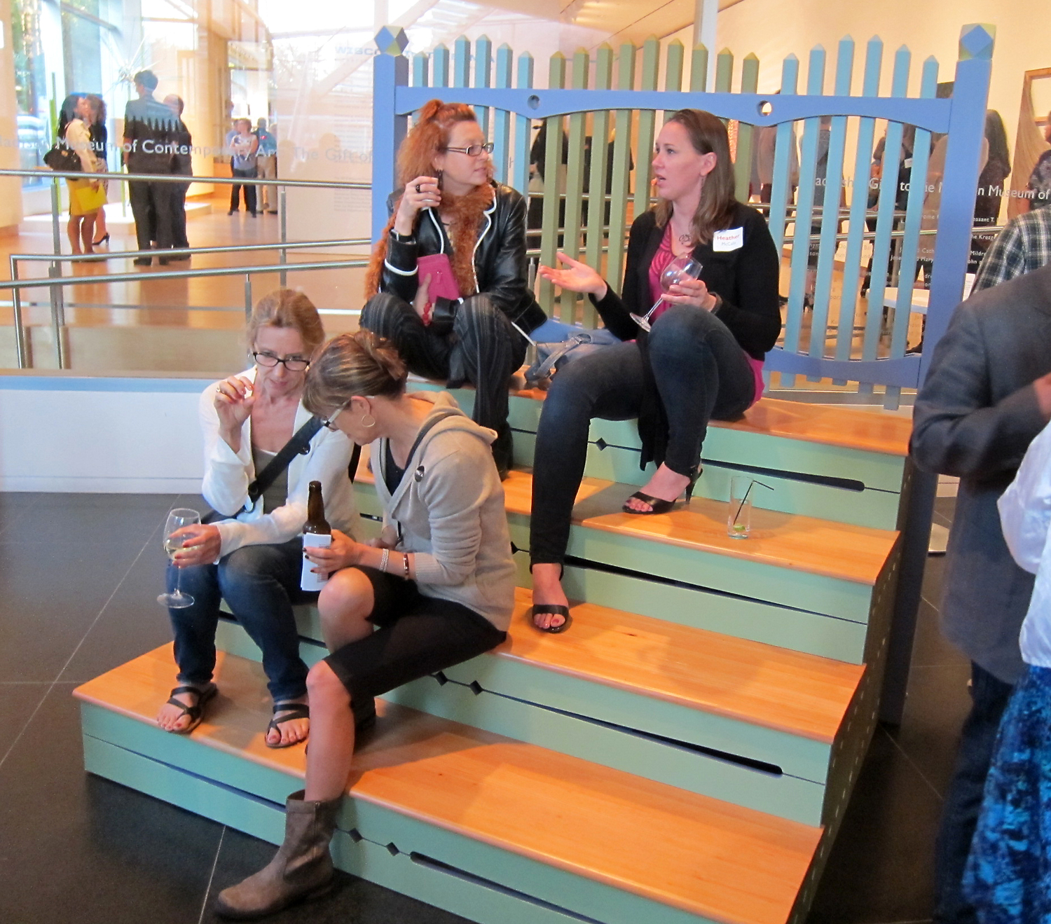 The Stoop Project | Tom Loeser and Bird Ross | Madison Museum of Contemporary Art |   2013 | each unit: 78 x 75 x 57
