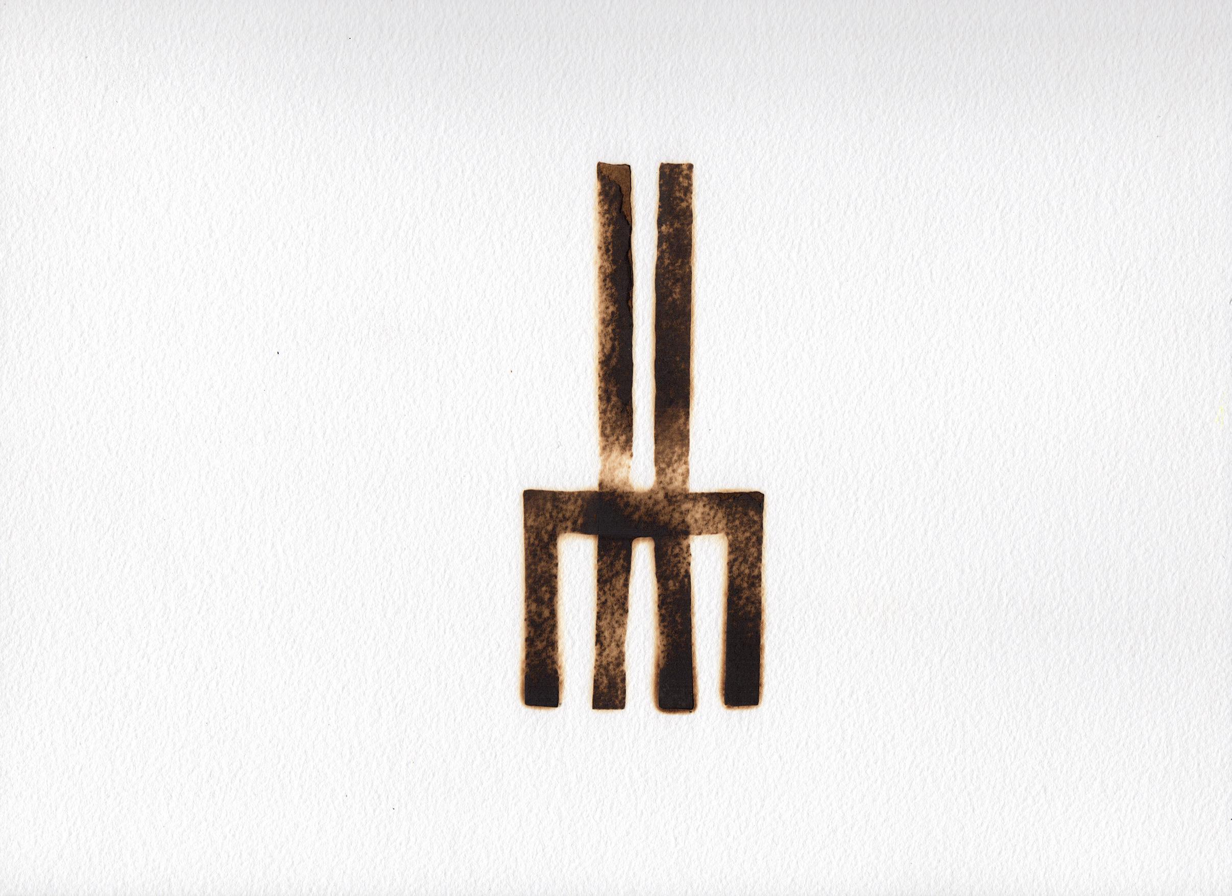Rearranging the Furniture-detail I 2015 I   pyrograph I 16 x 11.75