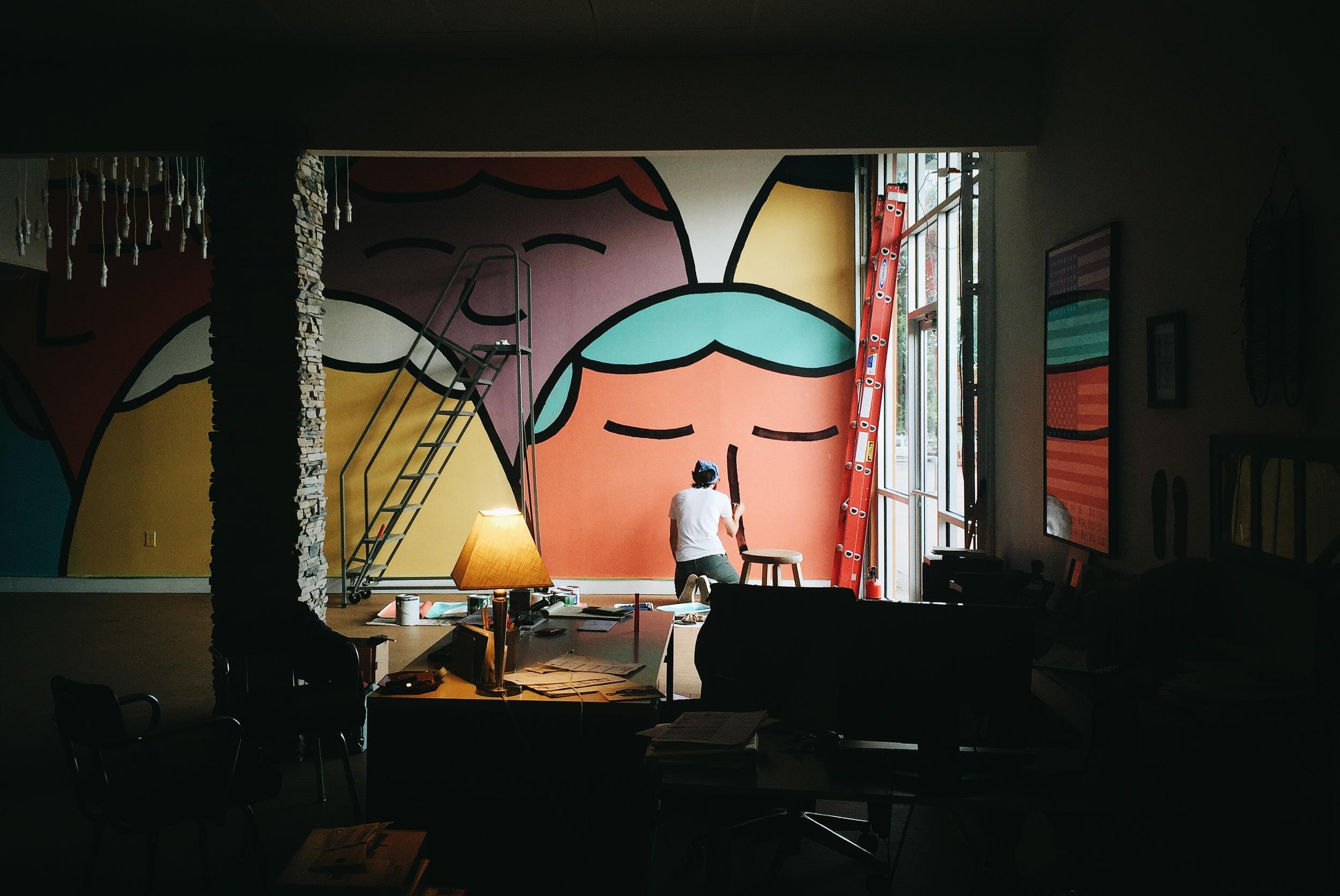 Hari Mari Mural by Kyle Steed
