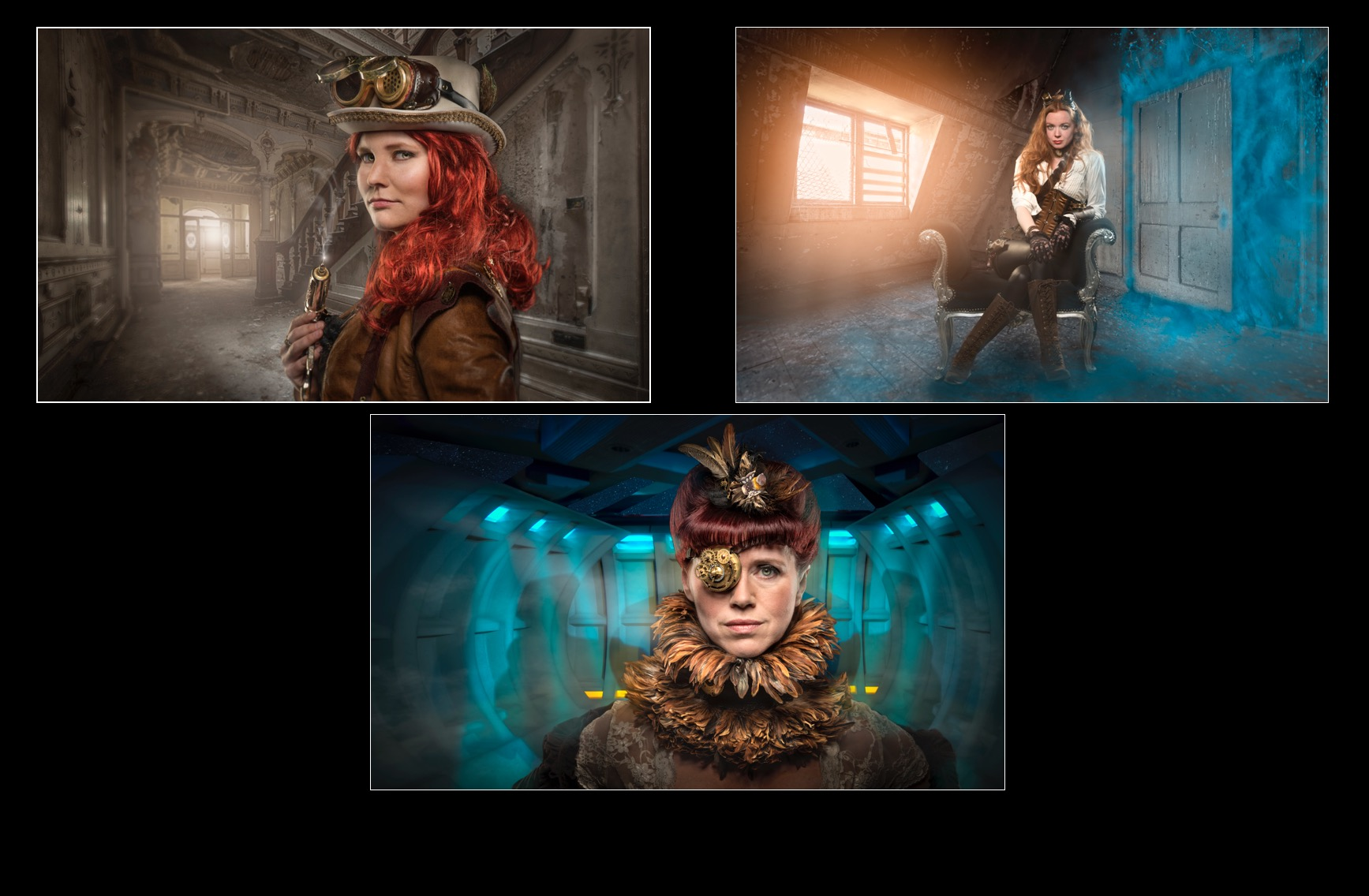 Ladies of Steampunk - Commended - Colour Print