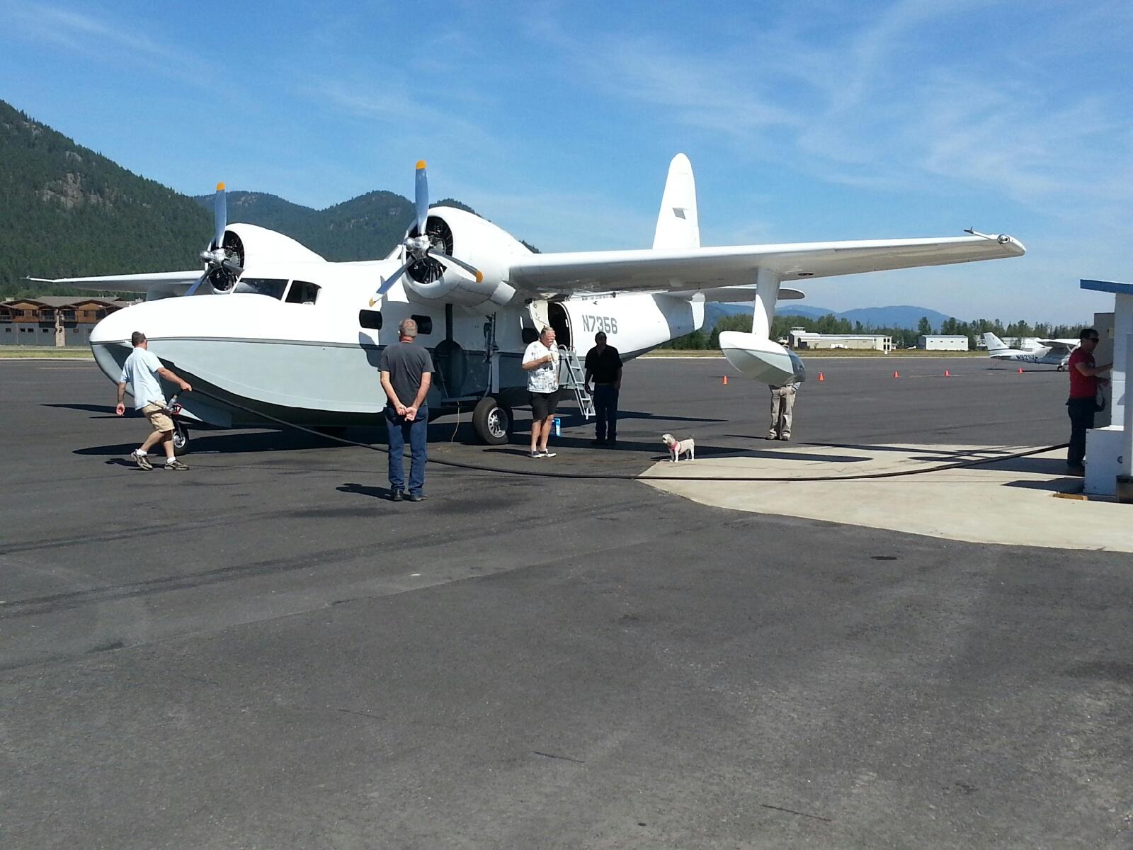 Idaho Float Plane Flying