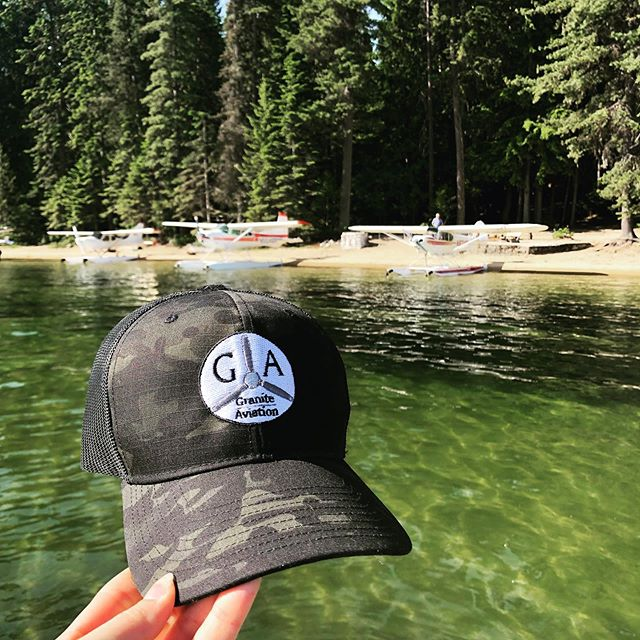 Hats are in at Granite! Come by and grab one before they're gone!! Don't forget to tag #graniteaviation and show us your adventures this summer!  #huckleberryseaplanesplash #seaplane #aviation #hillsresort