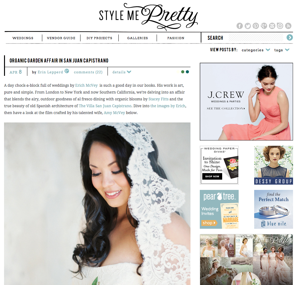 Style Me Pretty Feature