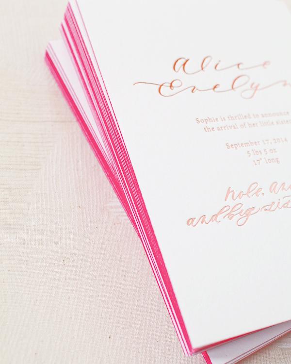 Hand-Painted-Rose-Gold-Foil-Birth-Announcements-Mon-Voir-Calligraphy-Bella-Figura-OSBP-139.jpg