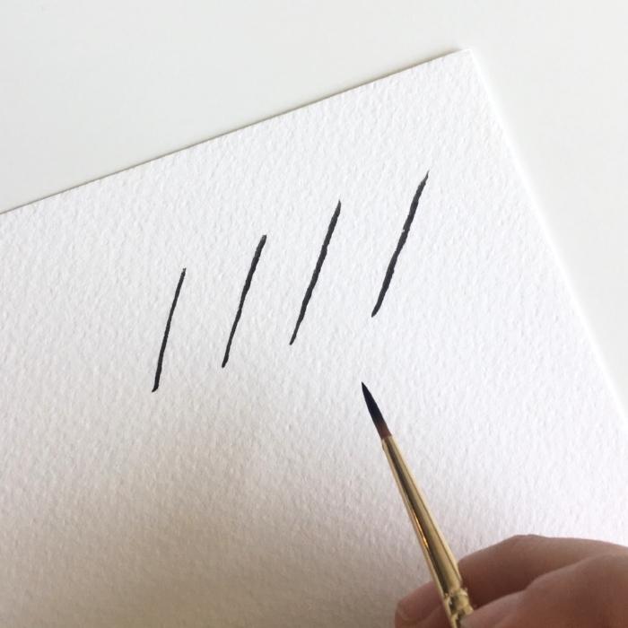 Brush Lettering - Upstrokes