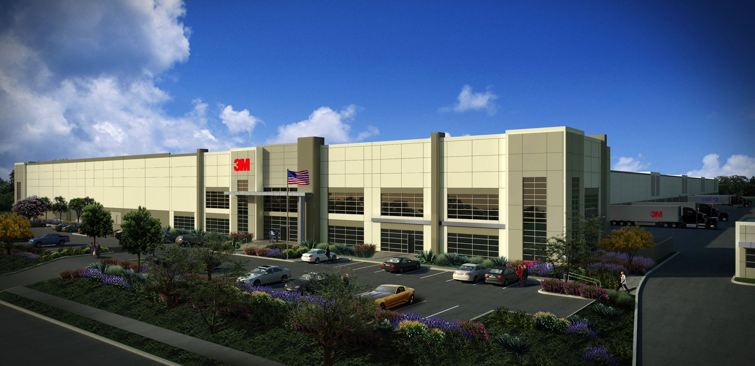 3m Western Distribution Center Rga Office Of Architectural