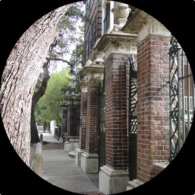 Downtown historic Charleston, SC