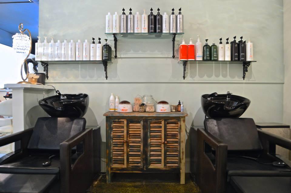 Mt. Pleasant Hair Salon Hair Washing Station