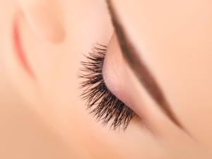 45680273 - woman eye with long eyelashes. eyelash extension