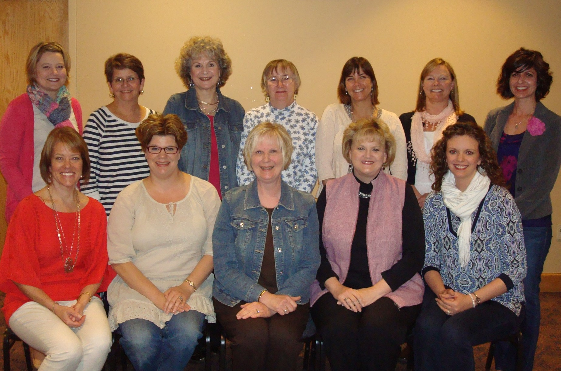 Linda Edwards' (back row, center) little yes led to great rewards as a serving member of WOW -- Women for Oppressed Women.