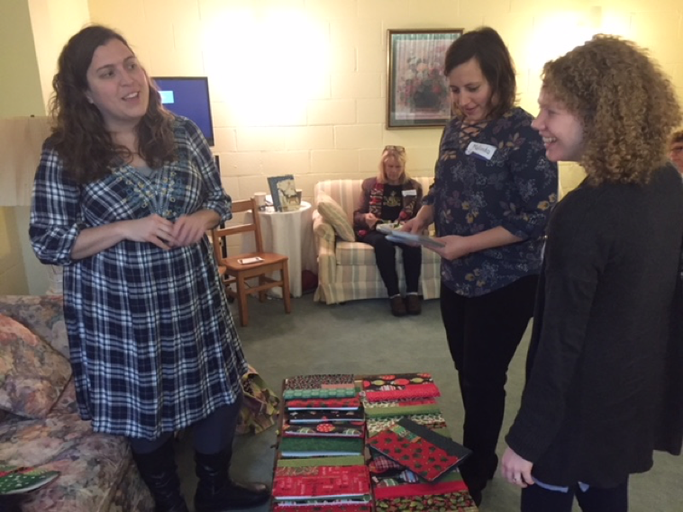 This is Andrea (left) who hosted our last JJJ that will benefit Lydia's Home. She was a wonderful hostess!