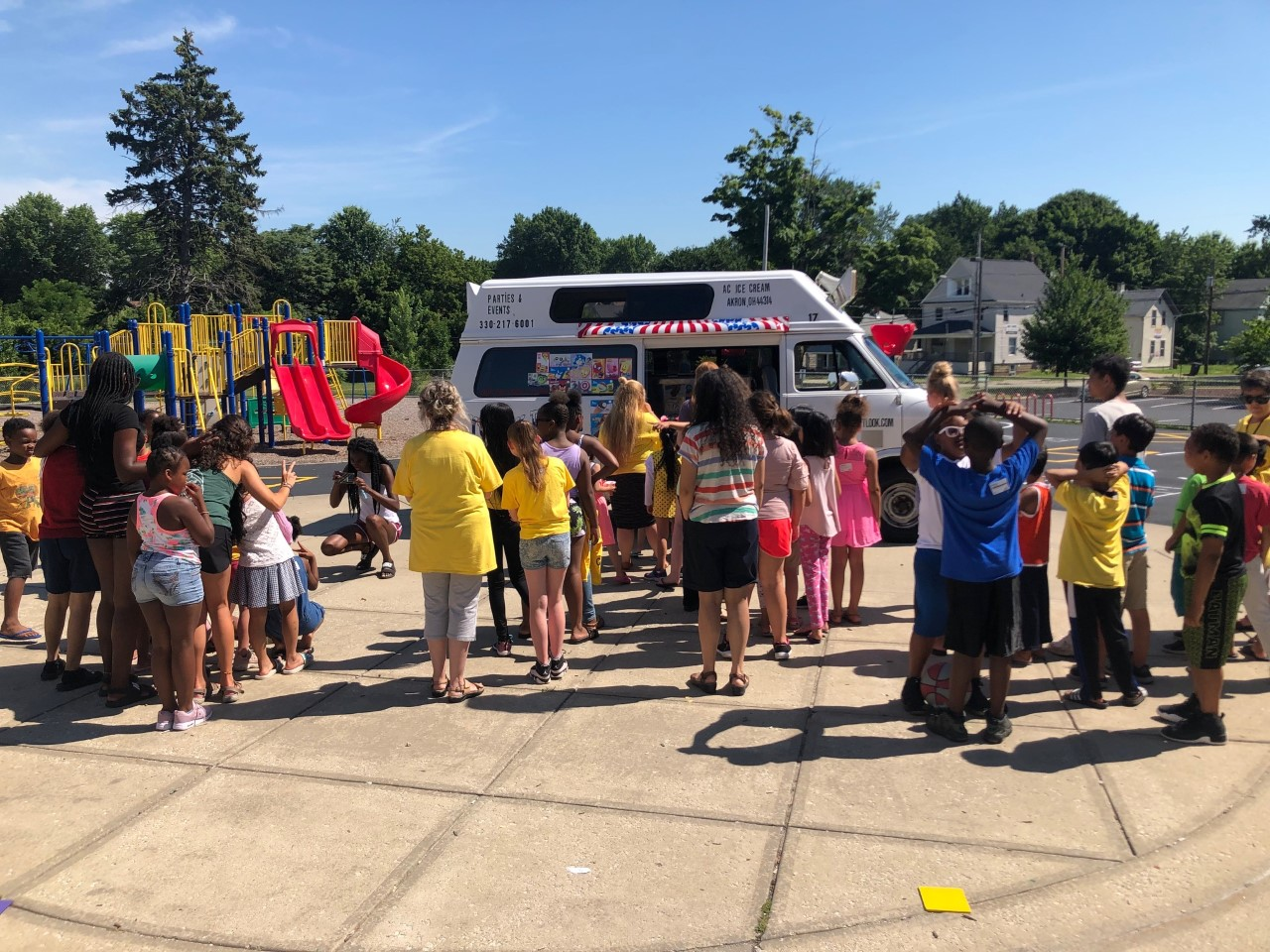 The ice cream truck and Slip N Slide were just two special treats that WOW could help attendees enjoy during the four weeks of this summer's Camp Learn-A-Lot. Camp director Lisa Marshall describes the Camp as the best one in its eight-year-history!