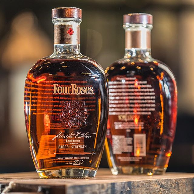 I got to hang with the great people at @fourrosesbourbon today. Get your hands on their 2017 Small Batch Limited Edition. It's super tasty! #handcraftthemoment #bourbon