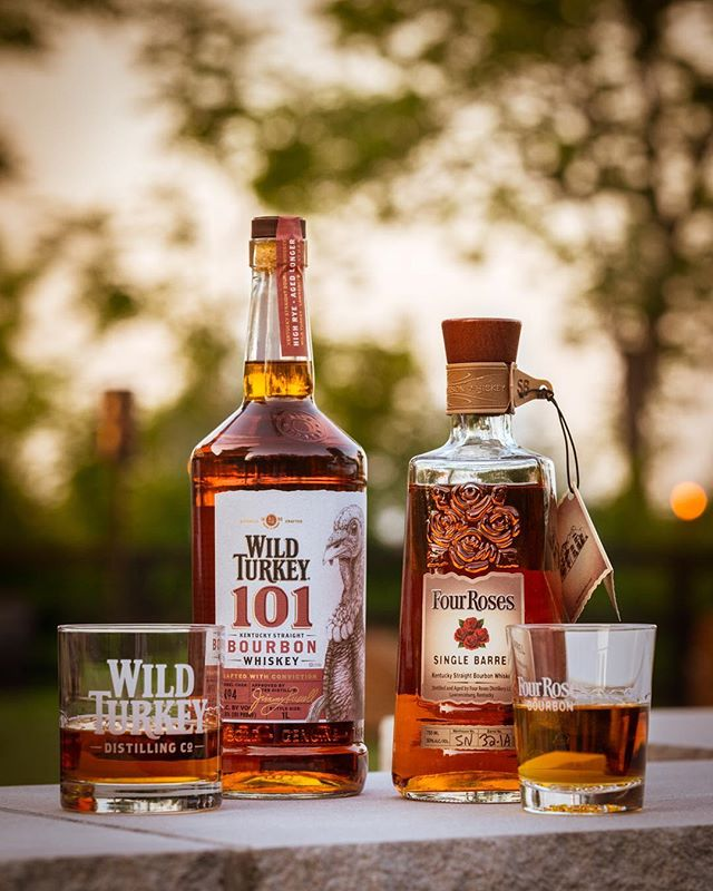 I tasted some awesome #bourbon and photographed some pretty bottles at the @Fourrosesbourbon and @Wildturkey Progressive Dinner during the #kentuckybourbonaffair  #fourrosesbourbon, #wildturkey, #wildturkeybourbon, #kentuckybourbontrail, #kentuckybourbonaffair, #brentelliott, #louisville, #Lawrenceburg #louisvillephotographer