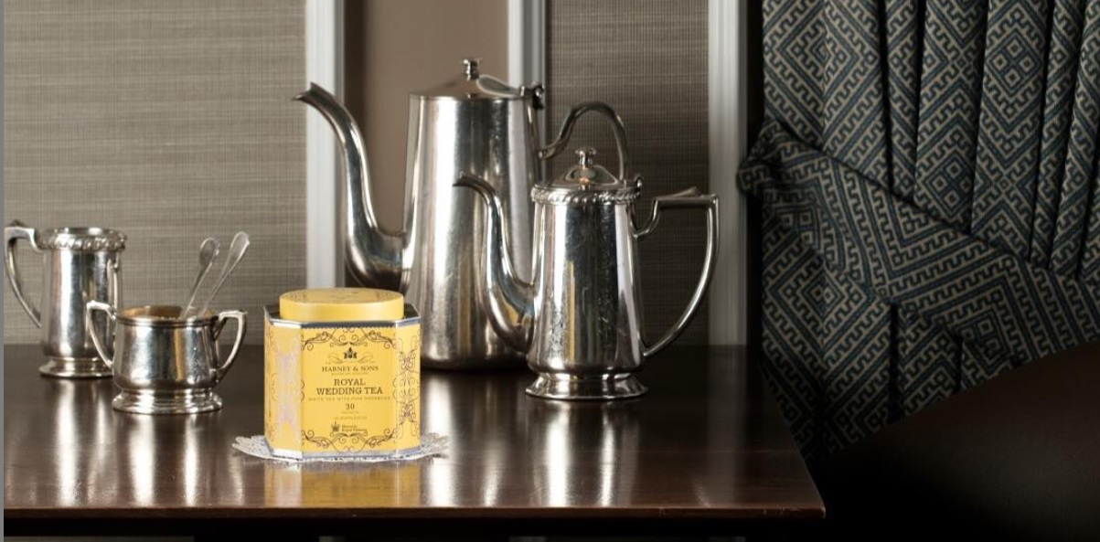 Harney & Sons'  Royal Wedding Tea  blend.  Photo compliments of Harney & Sons