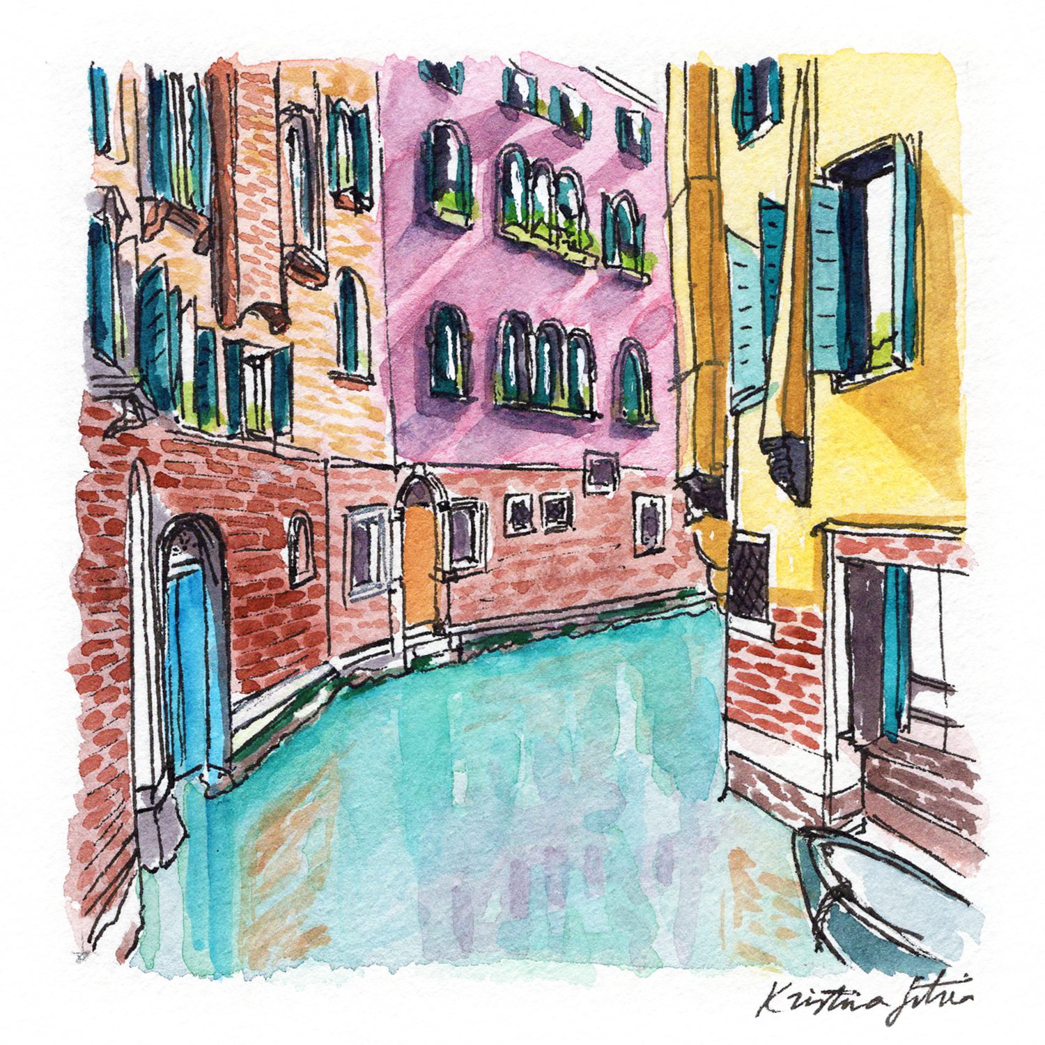 Where the streets are water. - TRAVEL | VENICE, ITALY.Where the streets are water and there's always something wonderful just around the corner.