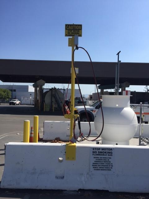 Caltrans Monrovia JCCNG Fuel Post.JPG