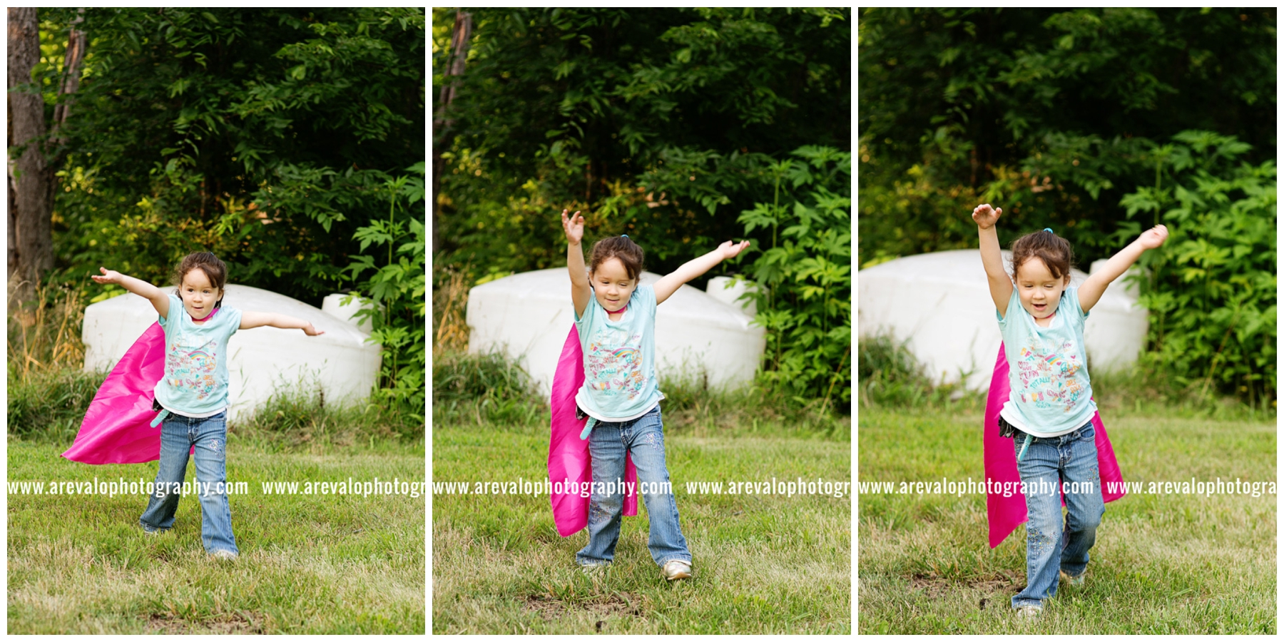 """""""I'm Amelia the Super Hero and I can FLY!"""""""
