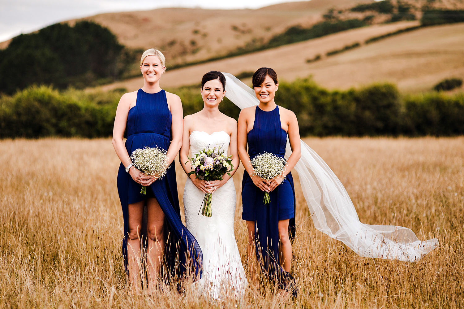 Bridesmaids in Field.jpg