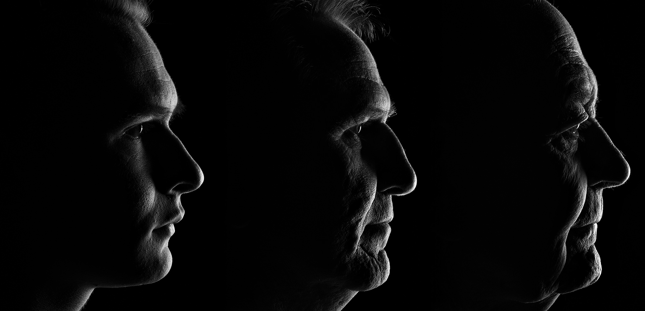 "Gold Award - 91 - Portrait Classic Category  This is a triptych I shot of myself, my dad and granddad, I wanted to capture the similarity and evolution of our manscapes. It was very special for it to be awarded Gold.  ""awww, this is the classic portrait category and this is extremely beautiful control of lighting, there is storytelling here, there is fine art here, this is heirloom quality for this family, it is going to hang in a ... I feel either the aging of one man or the story of generations and it's all in one succinct beautiful package"""