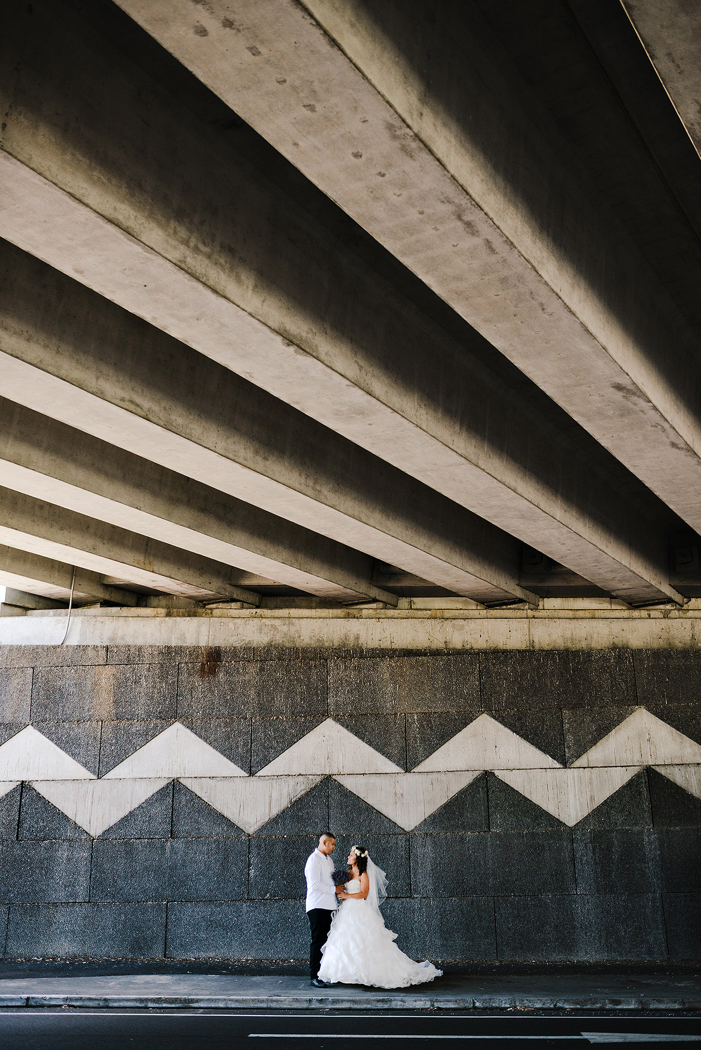 9 Zig Zag underpass Auckland Wedding Architecture.JPG
