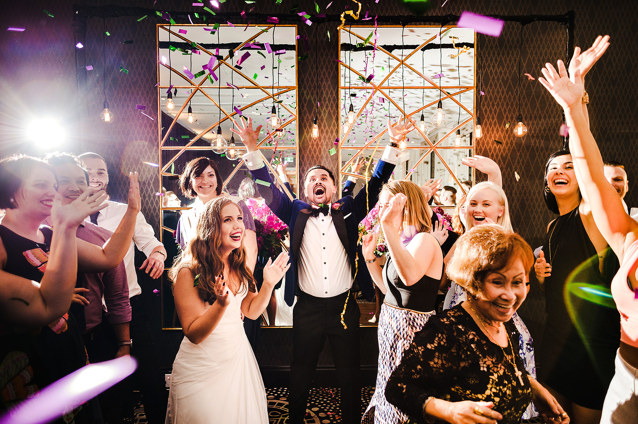 24 Confetti Throw Wedding Dancefloor Brisbane.JPG
