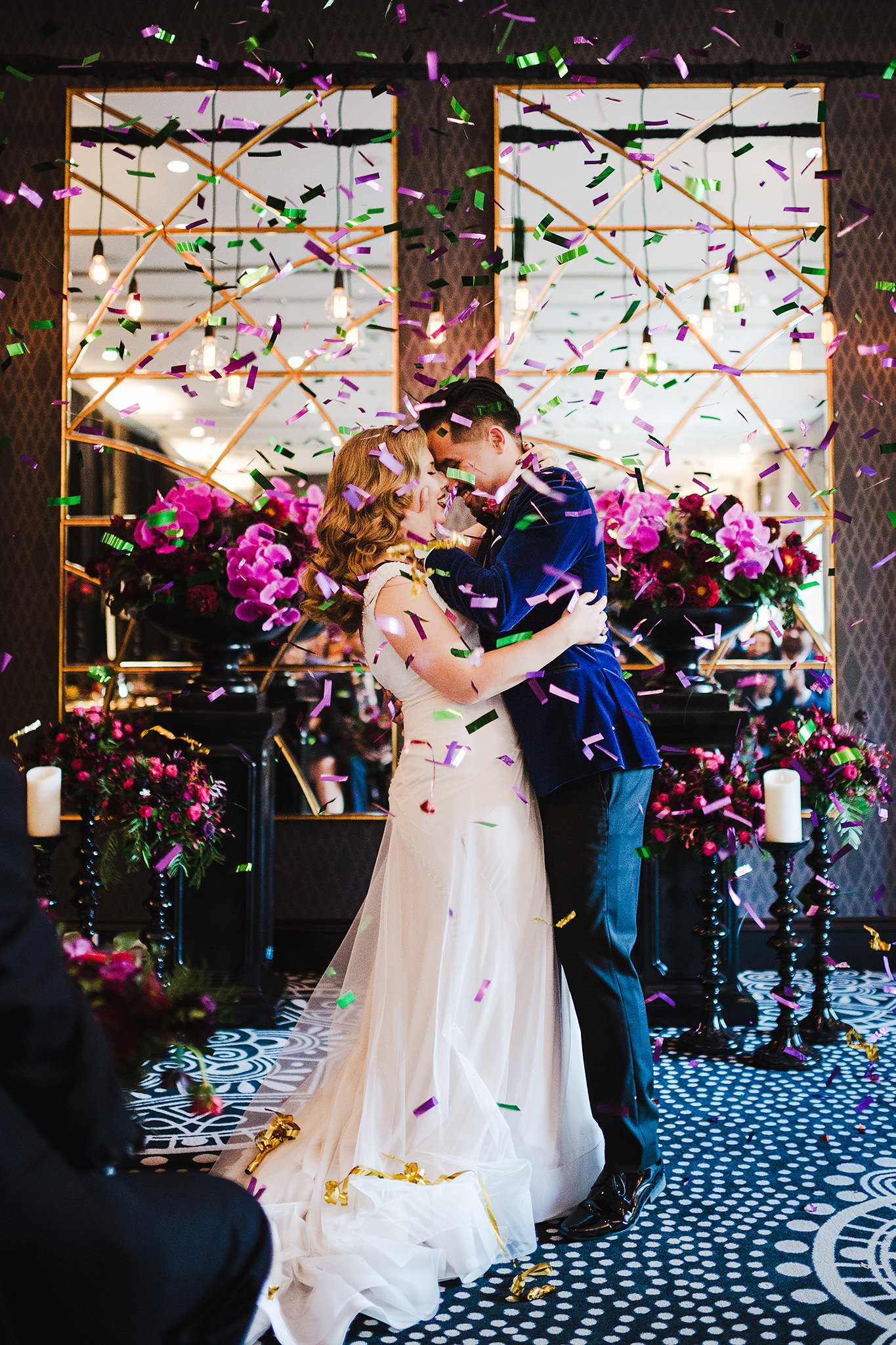 68 confetti kiss at wedding ceremony elegant colourful.JPG