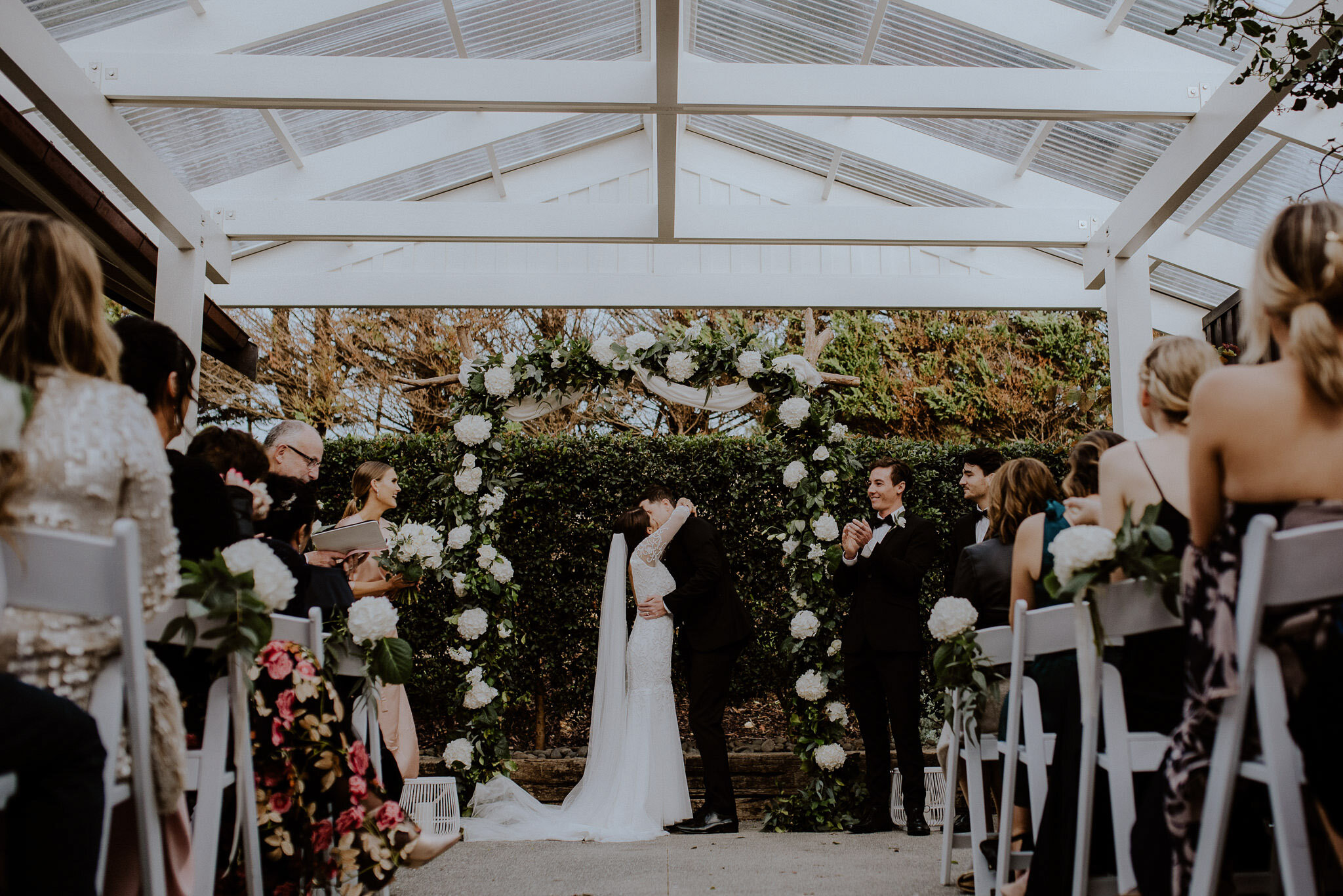 Mudbrick indoor ceremony option