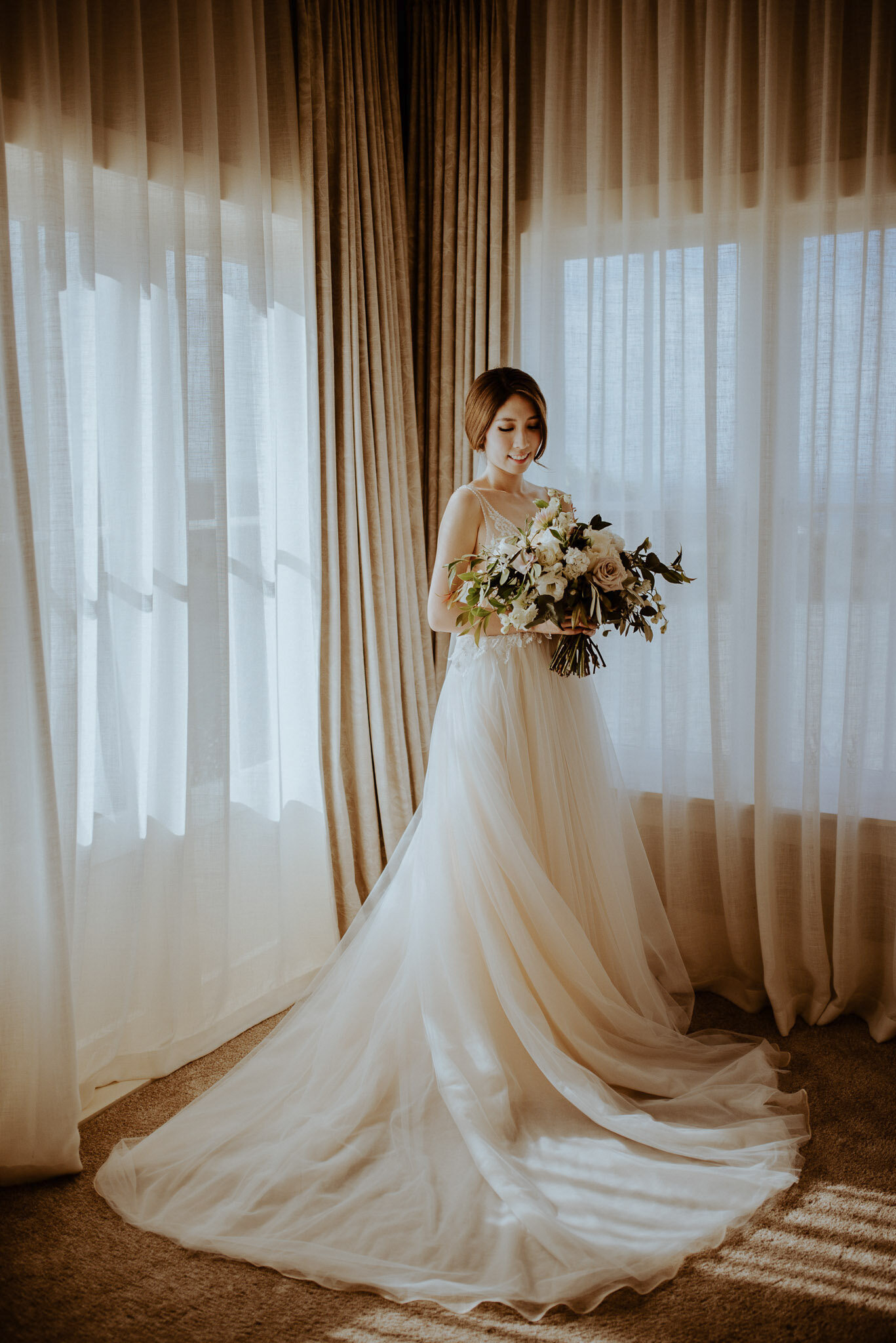 Bride + Groom Rooms - Mudbrick also have two beautiful rooms at The Lodge for you to get ready at, apply the finishing touches of makeup, freshen up, or whatever you need to do just before you walk down that aisle.