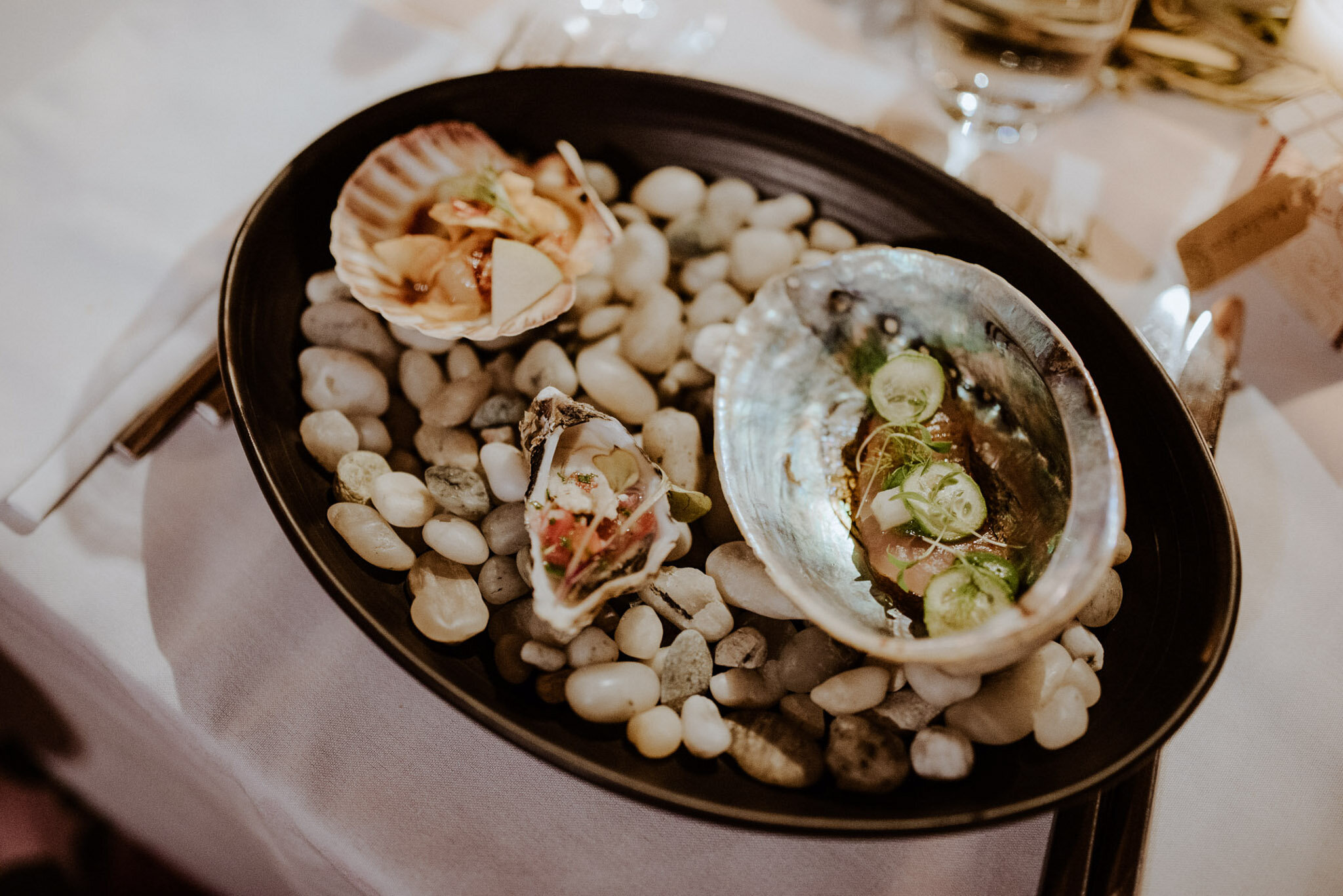Seafood at Mudbrick