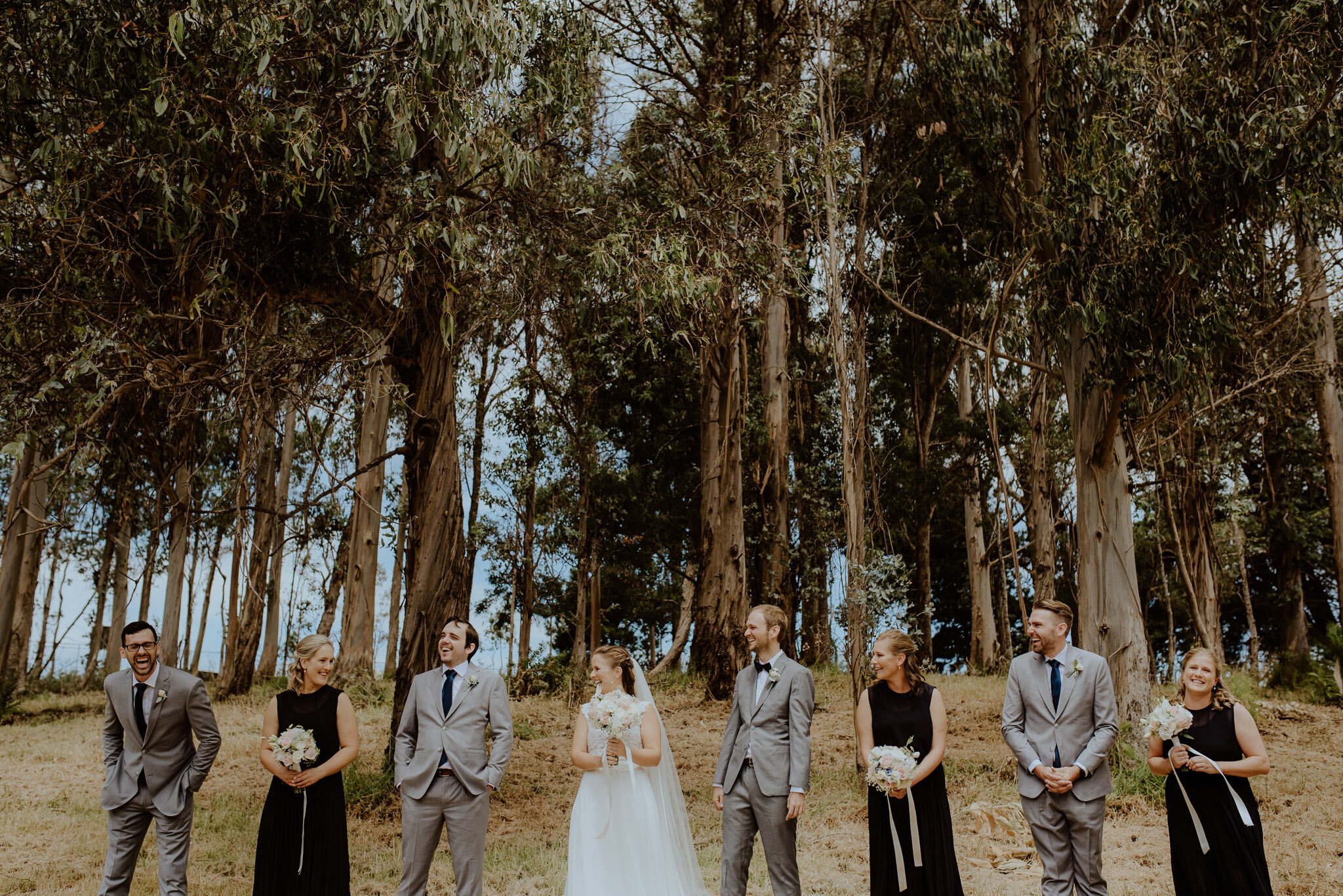 Waiheke Forest Wedding Photos