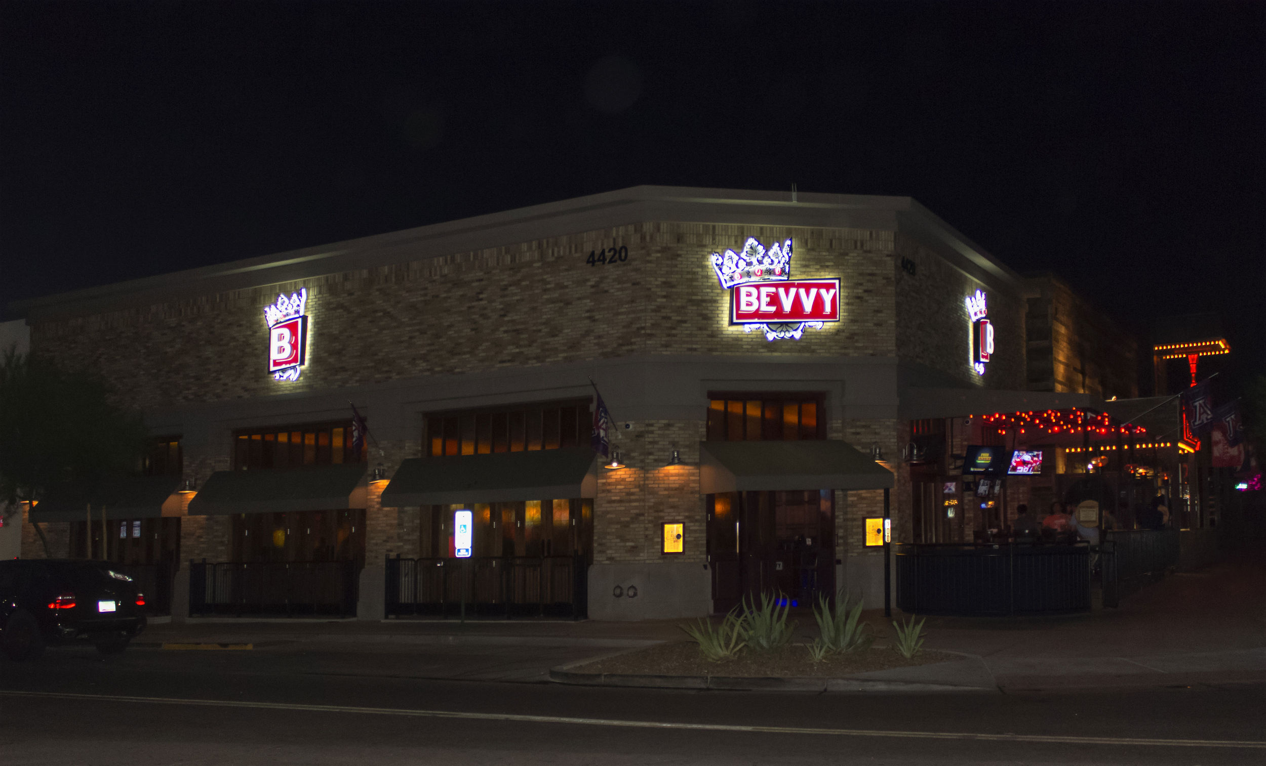 Bevvy Scottsdale Night View