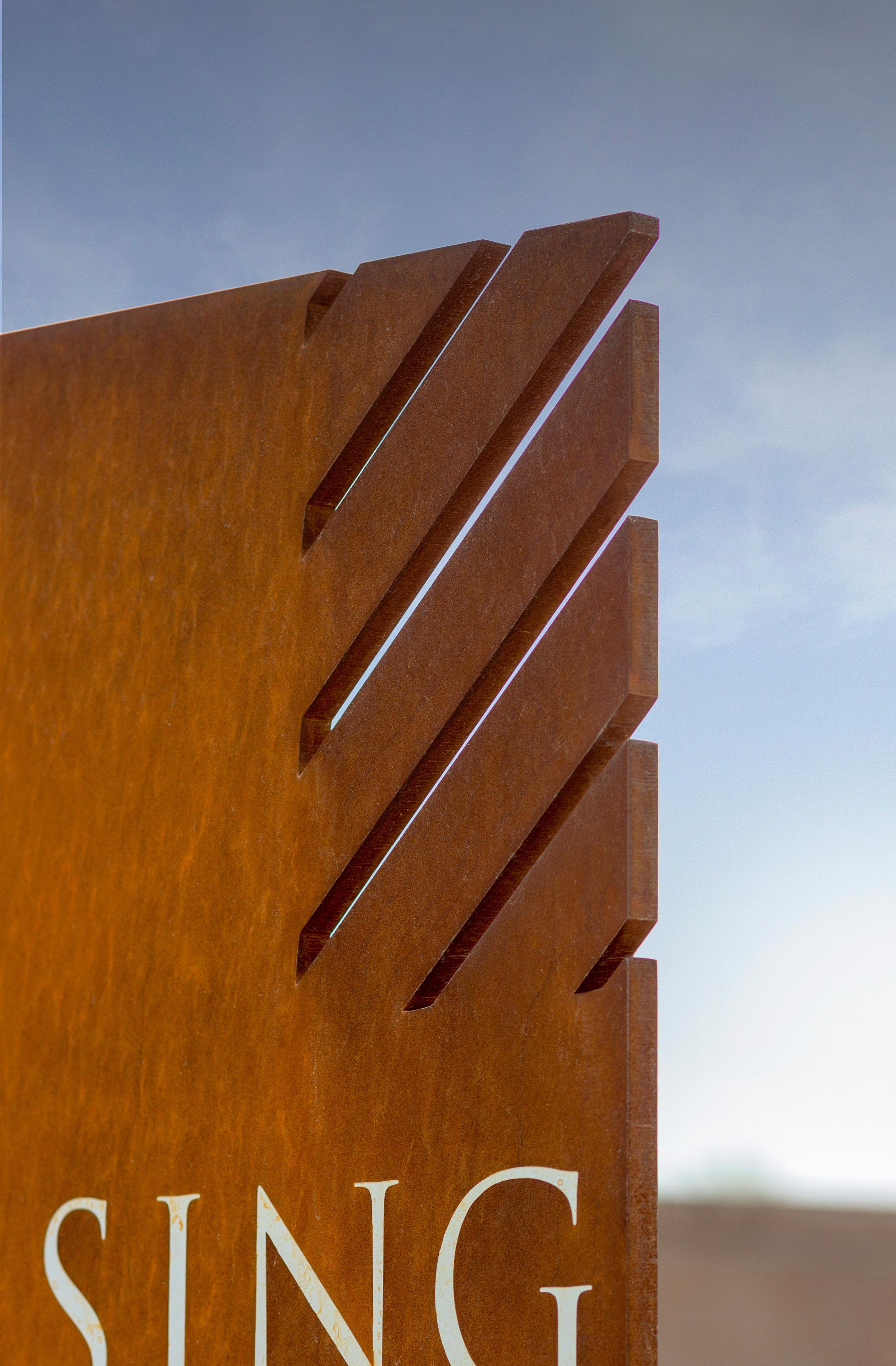 Sky Crossing Wayfinding Detail 3