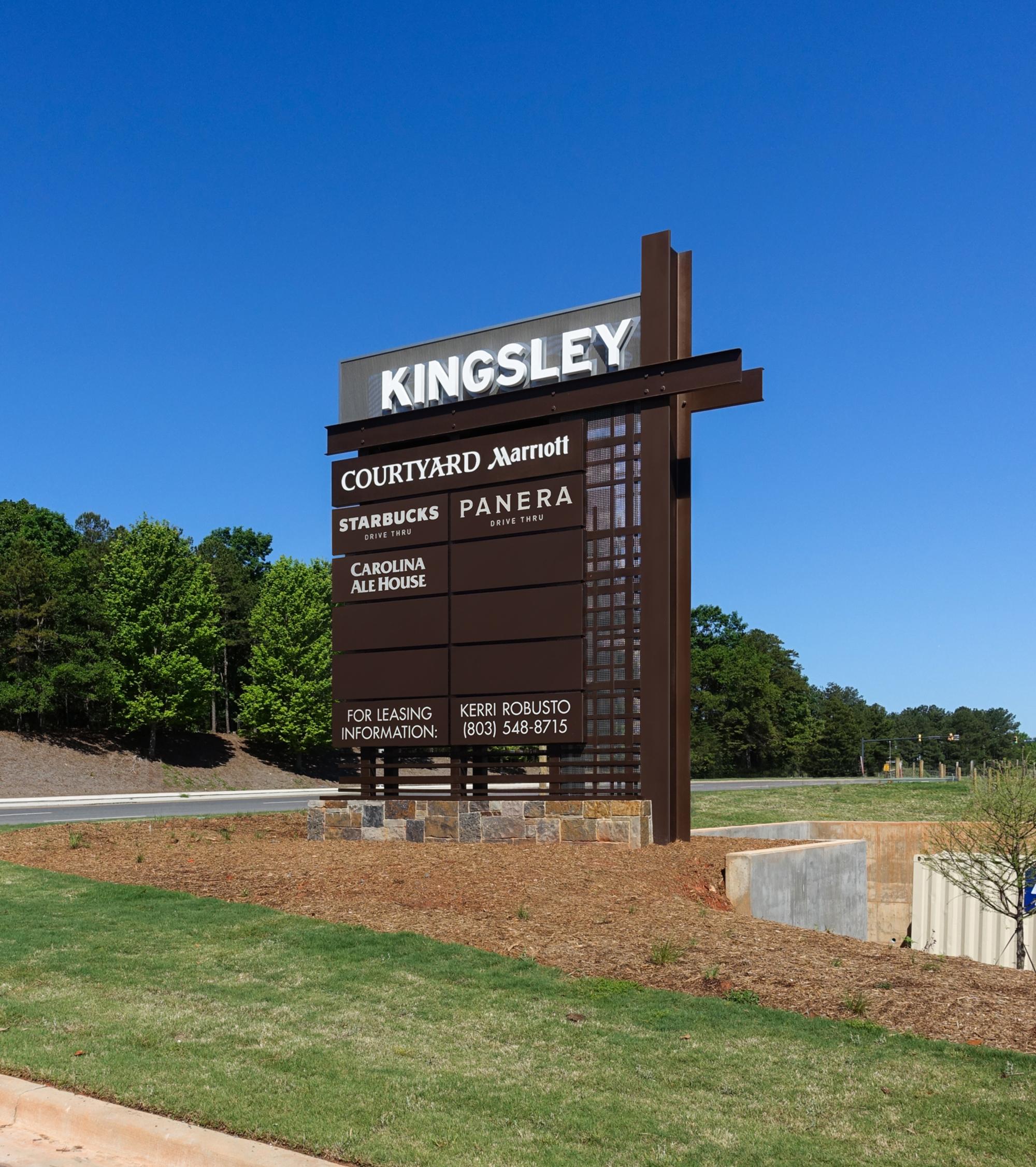 Kingsley Signage