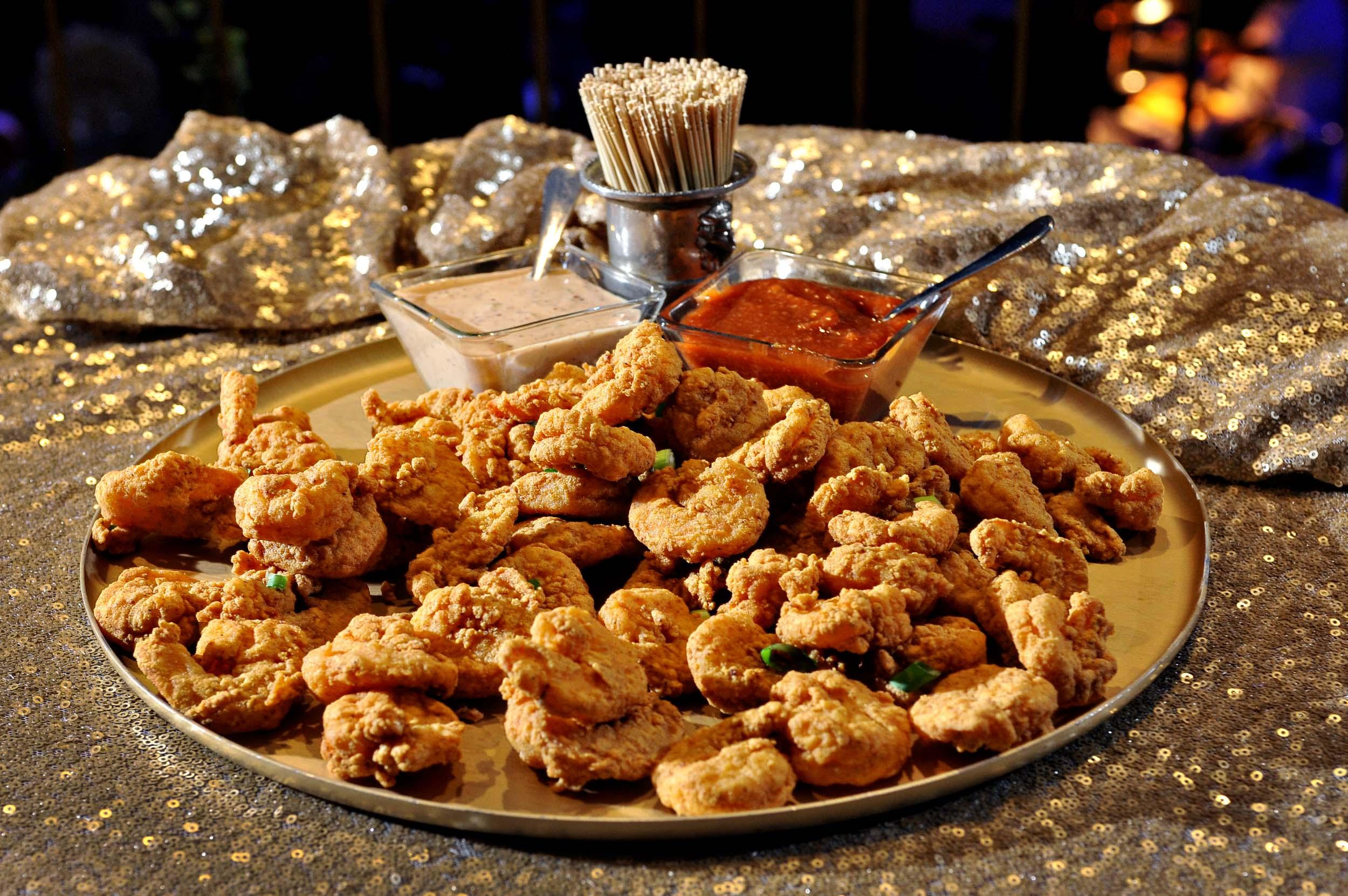 Louisiana Fried Shrimp (gluten-free)
