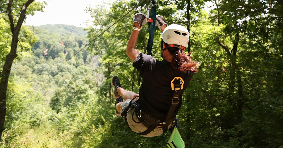 4 Benefits of Ziplining 1