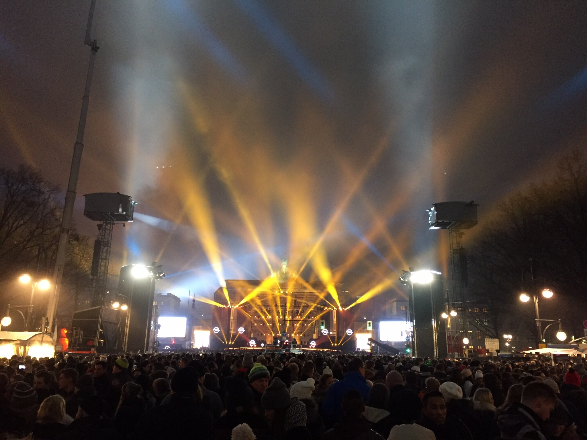 Brandenburg Gate: New Year's Party