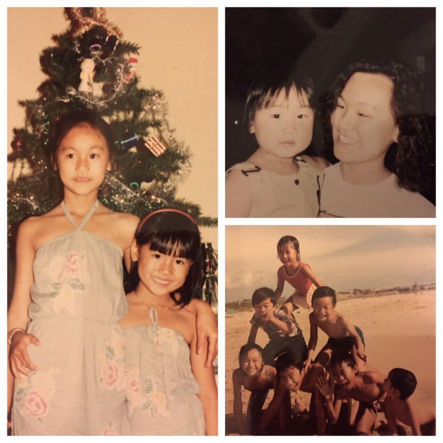 Left and clockwise: Linh and I, Linh and Alison, back to the days when I was on top of the world!