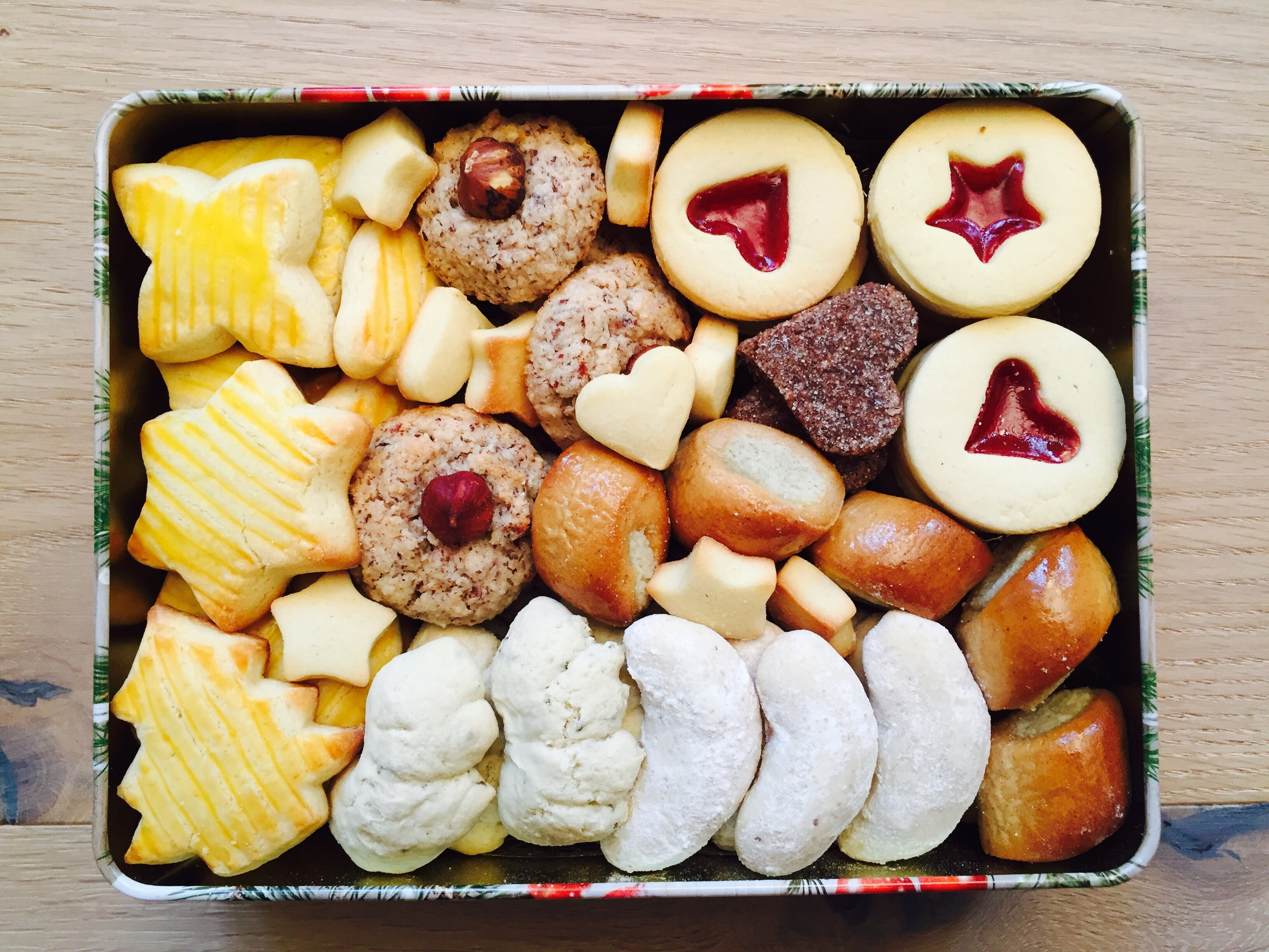 A box full of goodness.