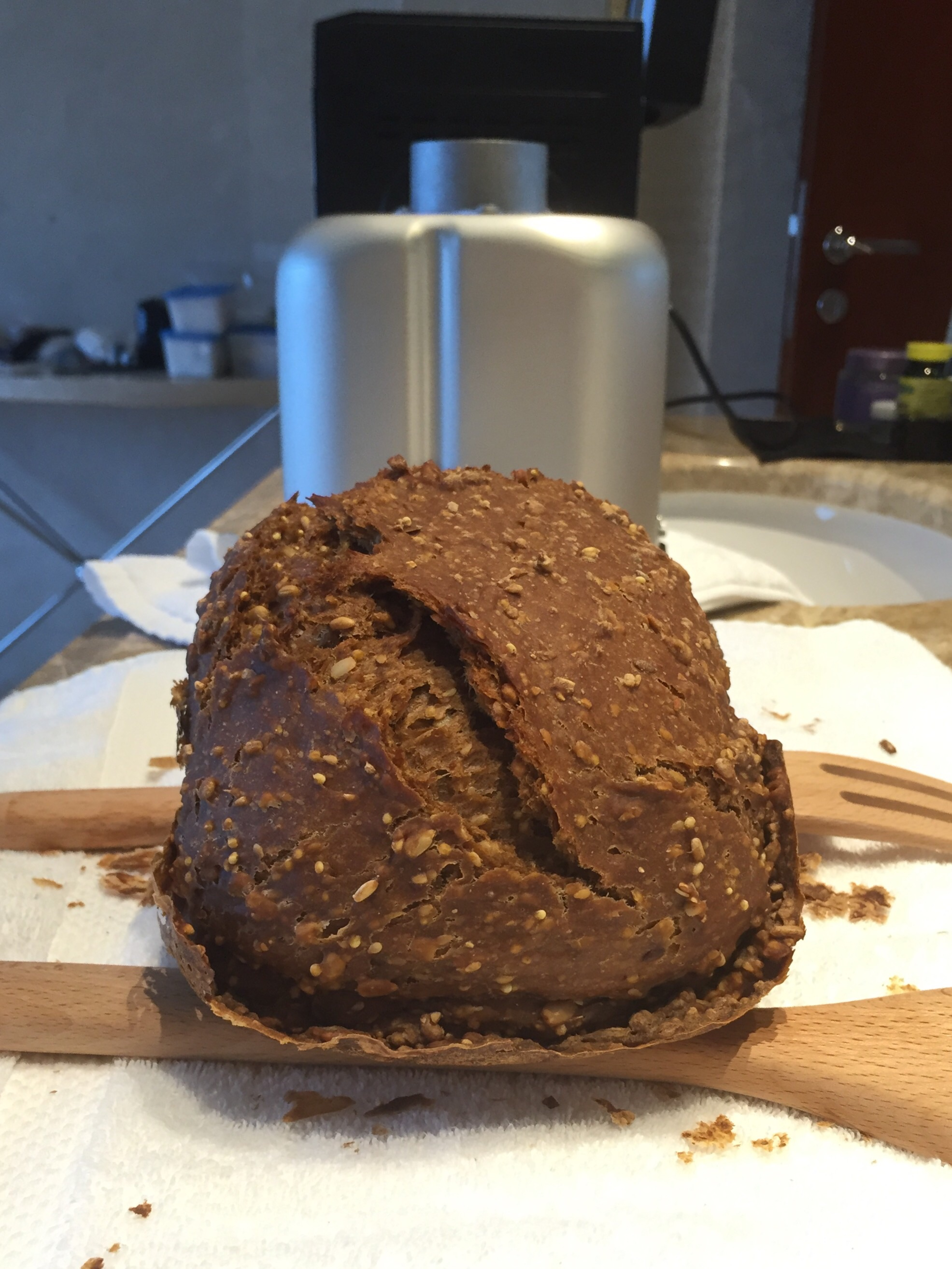 Unglamorous bread-baking but with excellent culinary results nonetheless!
