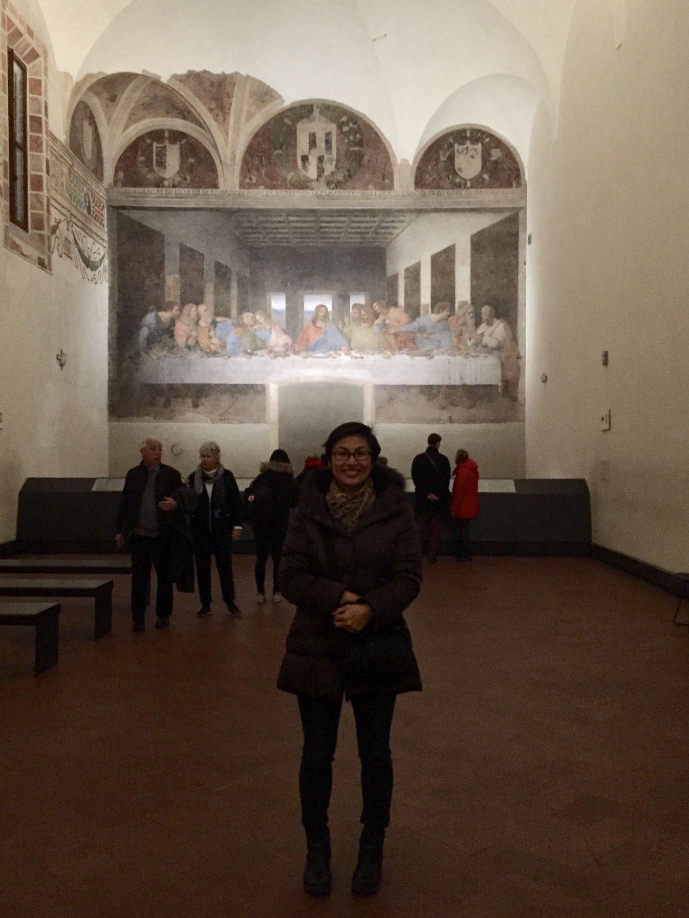 Visiting one of Milan's most important cultural treasures ;-)