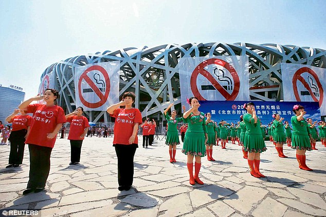 Beijing enforced the smoking ban back in June 2015. Shanghai is catching up. Image source: Reuters