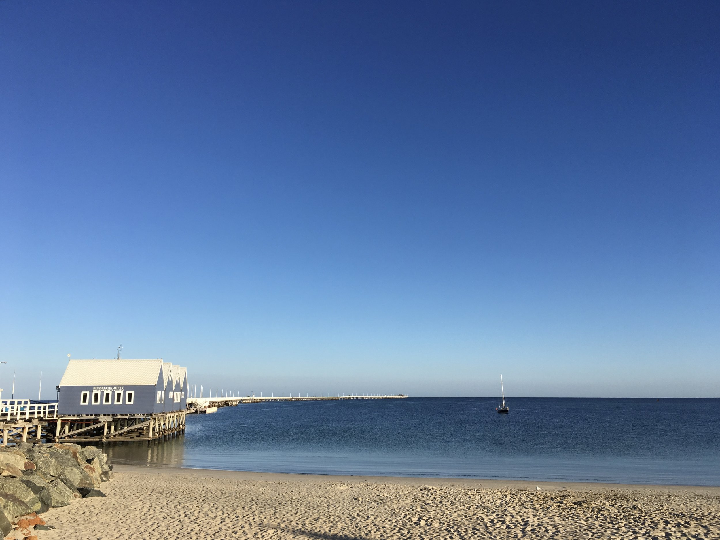 The famous Busselton Jetty.