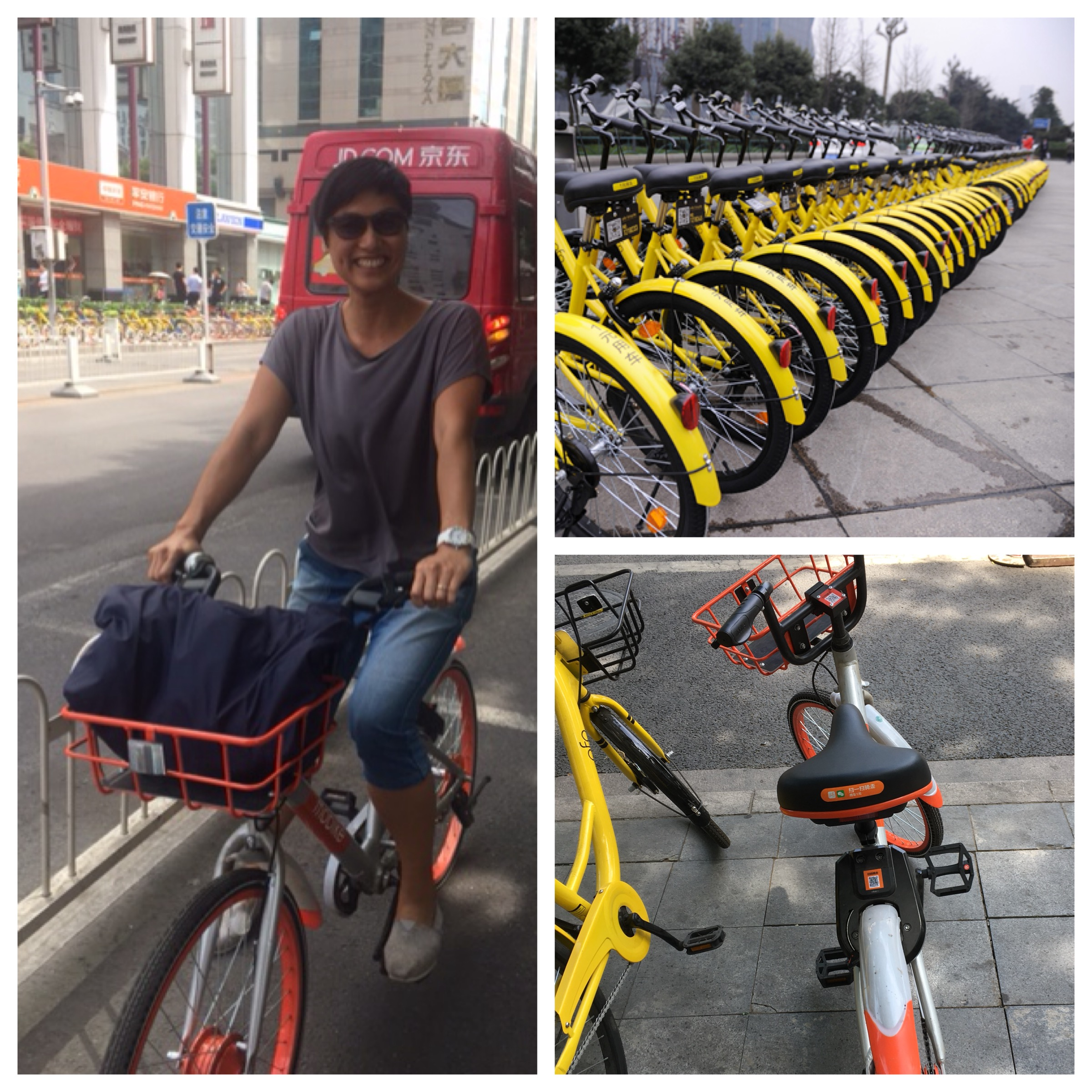 I was in Beijing and rode back to my hotel after meeting a friend. It took less time than the taxi ride there.