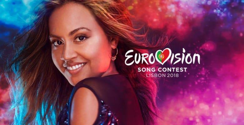 Image source: Eurovision Fan Club of Australia, Jessica Mauboy singing for Australia