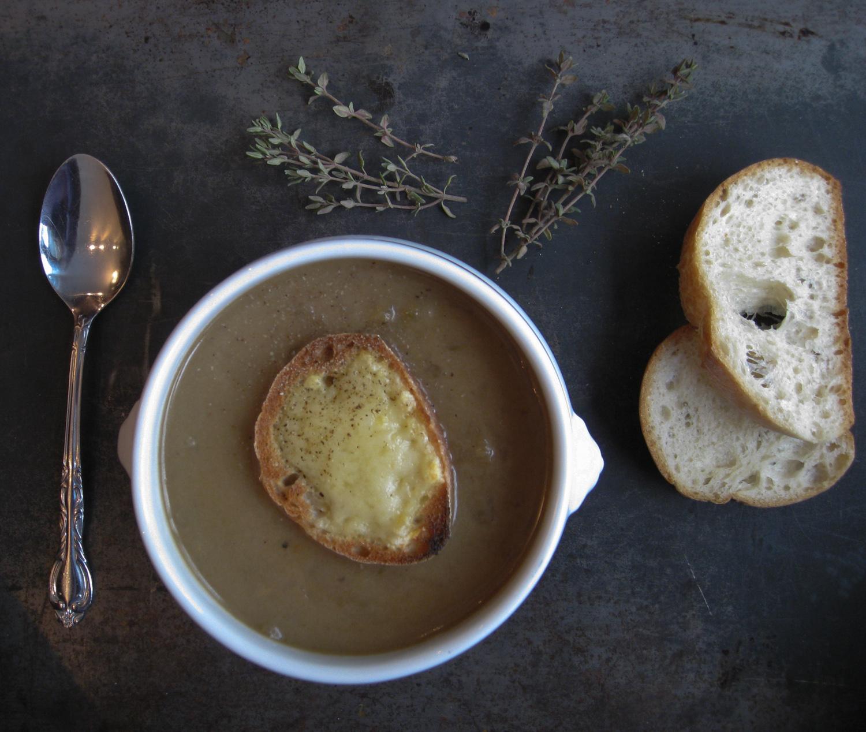My onion soup.