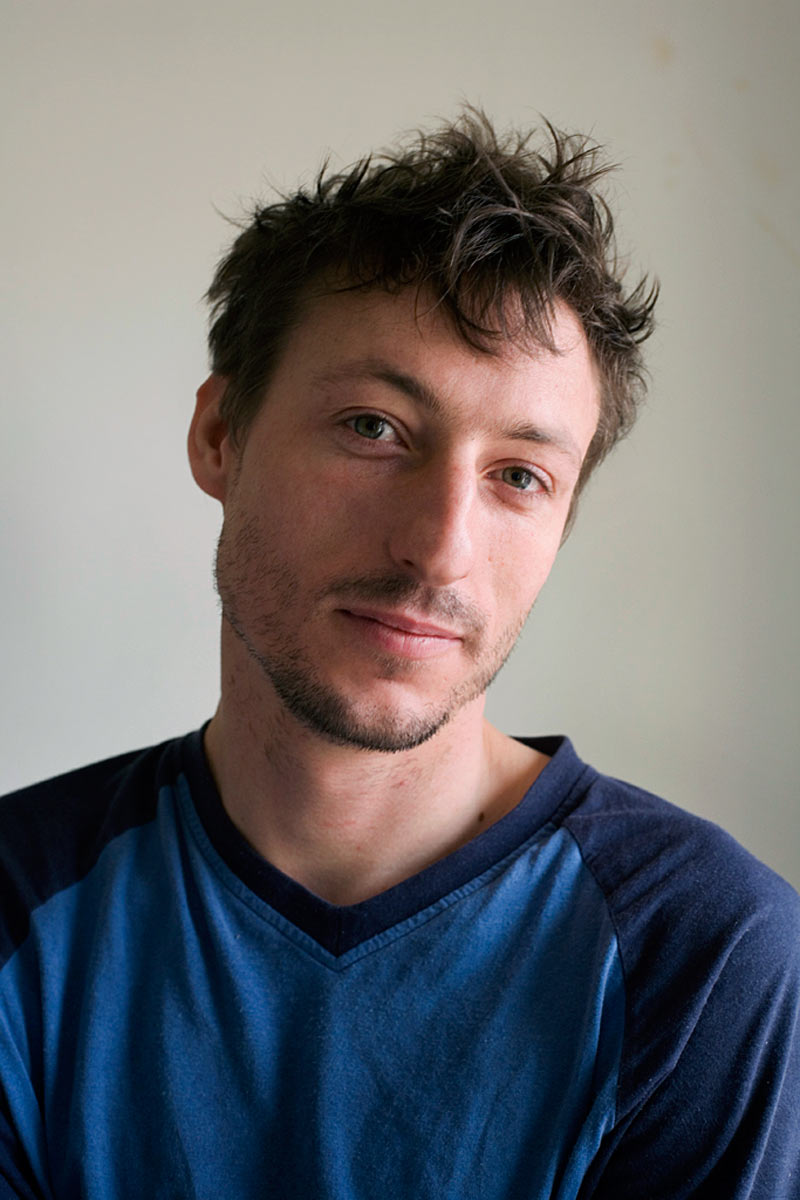 Arnaud, my studio, London 2008